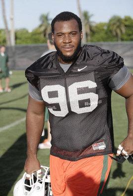Miami Hurricanes defensive tackle Curtis Porter battling to keep his status - UM - MiamiHerald.com | NFL & NCAA Football News | Scoop.it