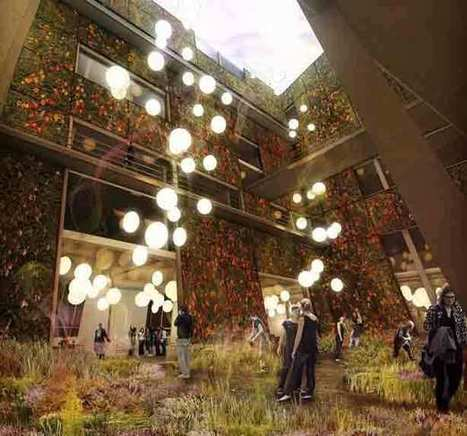 New York City Farm and Culinary Hotel Concept | Urban Gardens | Unlimited Thinking For Limited Spaces | Urban Gardens | Community Gardening | Scoop.it
