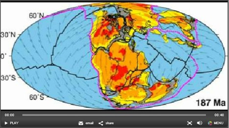 Earth's tectonic plates skitter about | Geography Education | Scoop.it