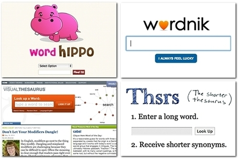 9 sources to help you find that perfect word | Semantic web, contents, cloud and Social Media | Scoop.it