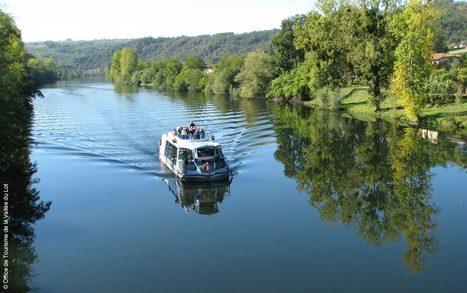 J'ai embarqué sur le Bateau Olt pour une croisière sur le Lot depuis Flagnac…. | L'info tourisme en Aveyron | Scoop.it