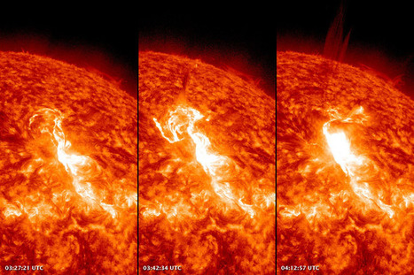 The Sun Flares with Activity : Natural Hazards | Geography | Scoop.it