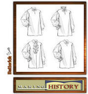 Crafts Sewing Fabric Sewing Sewing Patterns butterick mens shirt | eBay | Craft ideas | Scoop.it