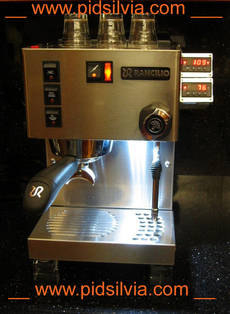 PID control for Rancilio Silvia. kit and parts only for Miss Silvia espresso machine modification | Husligt | Scoop.it