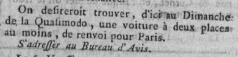 Vous connaissoit la fête de Quasimodo ?   De Bretragne en Saintonge   L'écho d'antan   Scoop.it