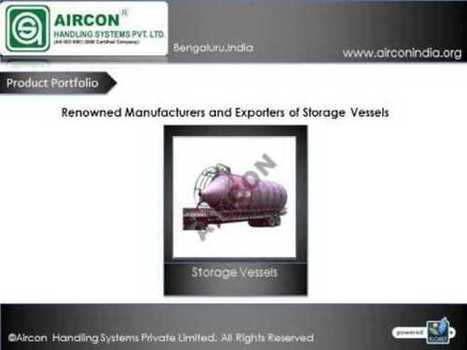 Storage vessels - Silo Storage Tanks Manufacturers India | Material handling Systems | Scoop.it
