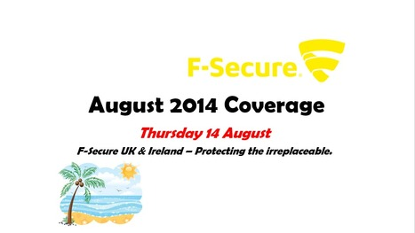 August Coverage (14th) | F-Secure Coverage (UK) | Scoop.it