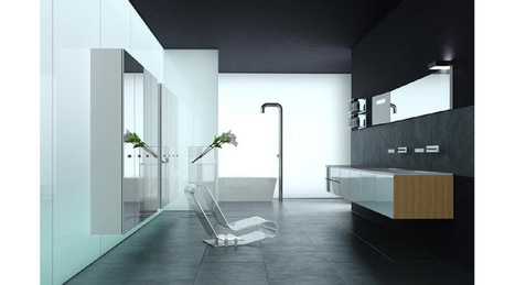modern bathroom, 3D Library - 3D Interior architecture | 3D Library | Scoop.it