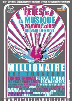 Les fêtes de la musique de Louvain-la-Neuve 2005   Cré Tonnerre   Scoop.it