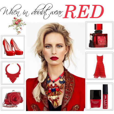 Wear Red When in doubt | Why fashion is necessary | Scoop.it