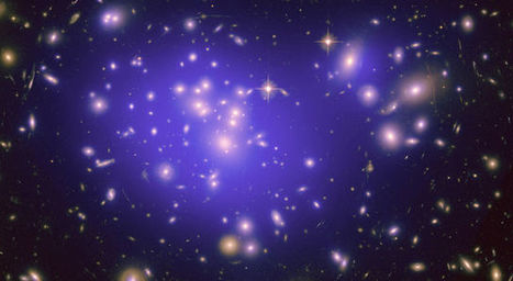 Galaxy Clusters Reveal New Dark Matter Insights | Amazing Science | Scoop.it