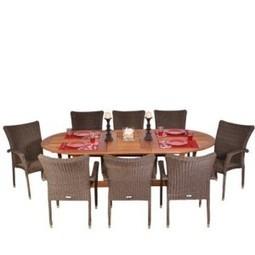 Amazonia Rennaissance 9-Piece Set | Furniture Shoppy | Best Patio Furniture Sets | Scoop.it
