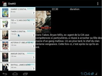 CineNO Horaires cinéma Hainaut - Android Apps on Google Play   applications android gratuites   Scoop.it