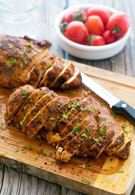 Super Simple Smoked Paprika Chicken | fitness, health,news&music | Scoop.it