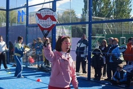 El pádel puede servir para luchar contra el Síndrome de Angelman desde Marchamalo | clubs de tenis y padel | Scoop.it