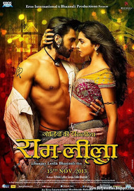 Ram-leela Movie Official Poster First Look (2013) HD   bollywoodfunia.com   Scoop.it