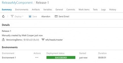 Versioning NuGet packages in a continuous delivery world: part 2 | Visual Studio ALM | Scoop.it