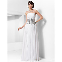 Sheath/Column Halter Floor-length Chiffon Evening Dress | Angelasmith | Scoop.it
