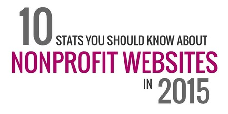 10 Stats You Should Know About Nonprofit Websites in 2015 | Nonprofit Online Communications | Scoop.it