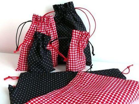 On a toutes besoin de petits pochons chez soi... - Bee made | Couture facile | Scoop.it