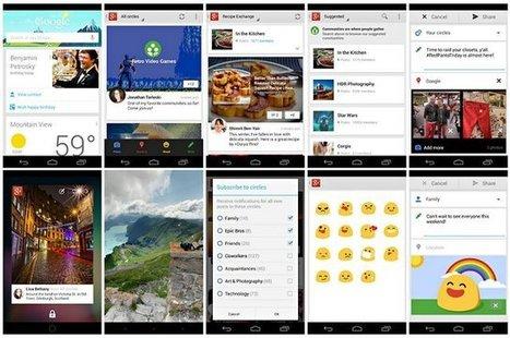 Google+ pour Android est mis à jour avec 24 fonctionnalités cool | News High-Tech | Scoop.it