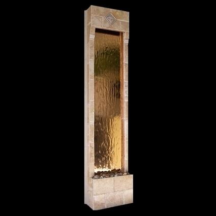 Exalted Fountains   Tuscan Vineyard Indoor Wall Fountain   Indoor Fountains In All Sizes   Scoop.it