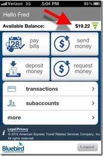 American Express Launches Mobile App for its Bluebird Prepaid Card   Payments 2.0   Scoop.it