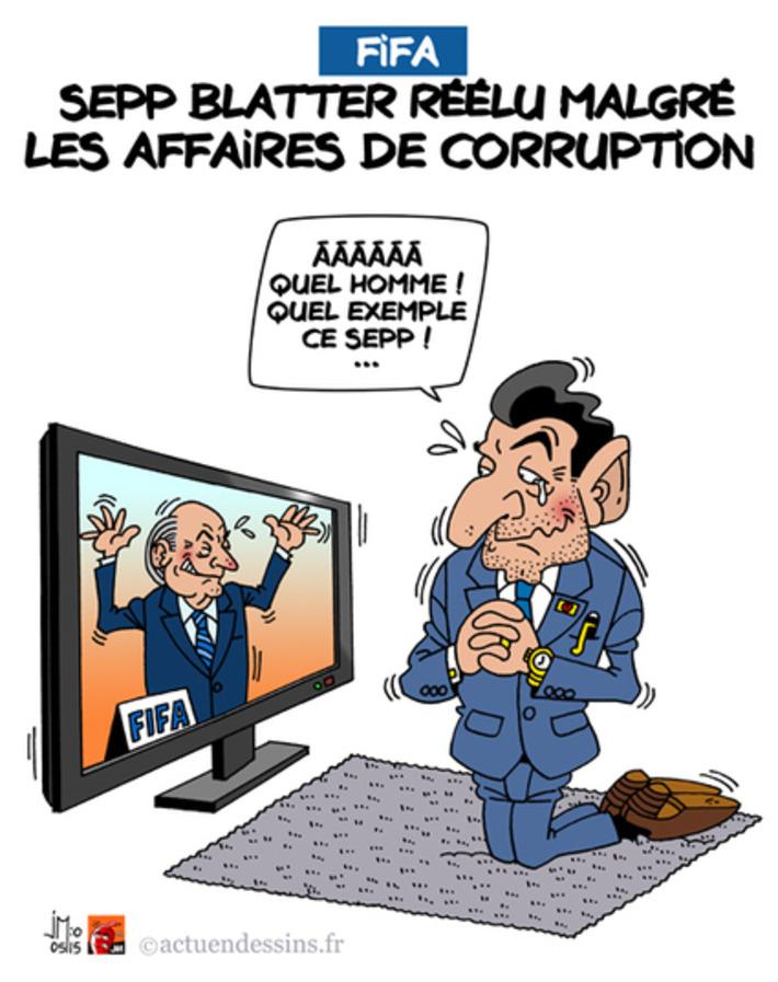 FIFA : Sepp Blatter réélu | Baie d'humour | Scoop.it