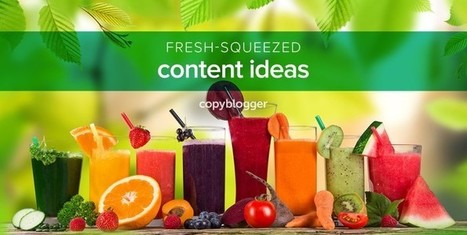 21 Juicy Prompts that Inspire Fascinating Content - Copyblogger - | Entrepreneurial Passion | Scoop.it
