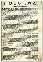 Gazzette bolognesi dal 1645 al 1796 | Généal'italie | Scoop.it