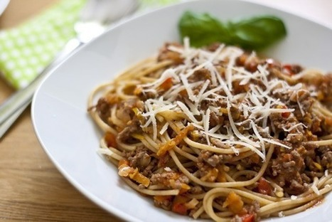#HealthyRecipe - Spaghetti Bolognese with Hidden Vegetables | Easy-to-do recipes | Scoop.it