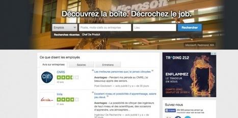 Comment Glassdoor veut bousculer la recherche d'emploi en France | RH2.0, RH3.0... utopie & réalité | Scoop.it