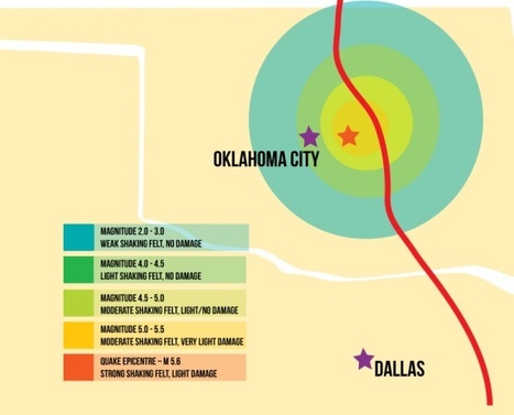 Keystone XL would be right on top of latest Oklahoma earthquakes | green infographics | Scoop.it
