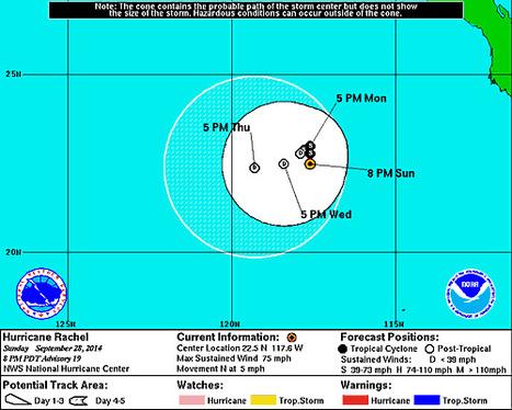 Hurricane RACHEL   Cabo San Lucas   Scoop.it
