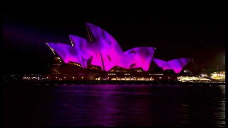 """Vivid Festival 2013 - Opera House Projection """"PLAY"""" by Spinifex Group - Full 