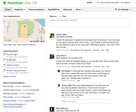 Nextdoor Launches Private Social Networks for Neighborhoods | Technology and Gadgets | Scoop.it