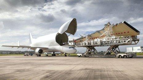 Shelter for Airbus loader in winds | A300-600ST, outil économique essentiel dans  le développement mondial d'Airbus | Scoop.it