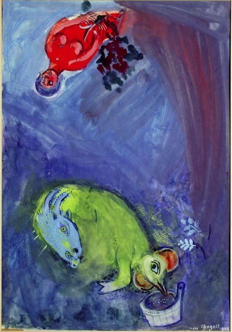 La Piscine Roubaix - Marc Chagall. L'épaisseur des rêves - 13 octobre 2012 au 13 janvier 2013 | Les expositions | Scoop.it