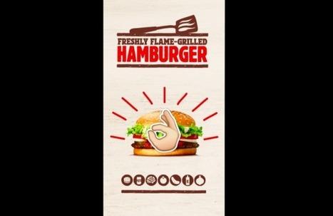 Burger King vous offre un Whopper contre un snap | Publicite | Scoop.it