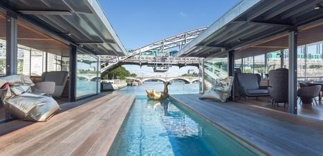 A Paris, ouverture du 1er hôtel flottant sur la Seine | Médias sociaux et tourisme | Scoop.it