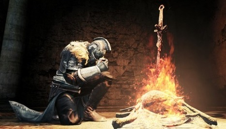Dark Souls 2 beta footage shows new inventory, nicer animation, jolly co-operation - PC Gamer Magazine | Machinimania | Scoop.it