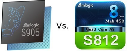Amlogic S905 vs S812 Benchmarks Comparison | Embedded Systems News | Scoop.it