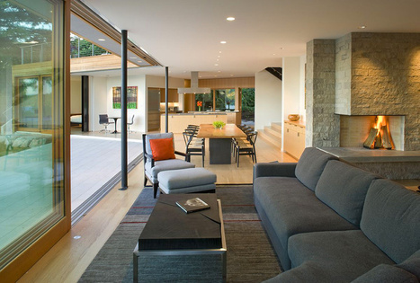 A Seamless Spatial Experience: The Cedar Park House in Seattle | Breathtaking Architecture | Scoop.it