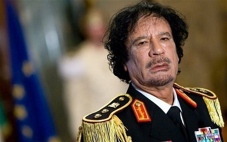 Libya conflict in 50 pictures: the fall of Colonel Muammar Gaddafi | Global-Issues | Scoop.it