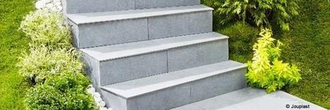Un module d'escalier extérieur facile à poser | Conseil construction de maison | Scoop.it