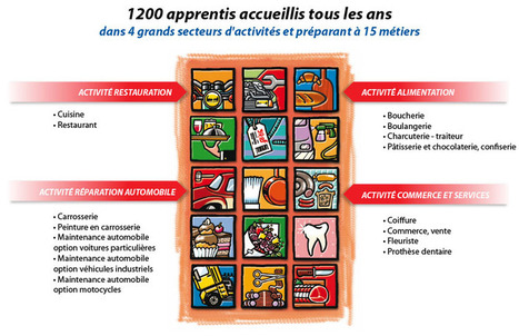 Formation par alternance à Besancon - formation alimentation, restauration, automobile, commerce en alternance | CFA Hilaire de Chardonnet | cuisine 25 | Scoop.it