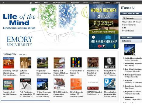 iTunes U as a Channel of Open Educational Resources | H812 Blk 2 - some food for online discussion | Scoop.it