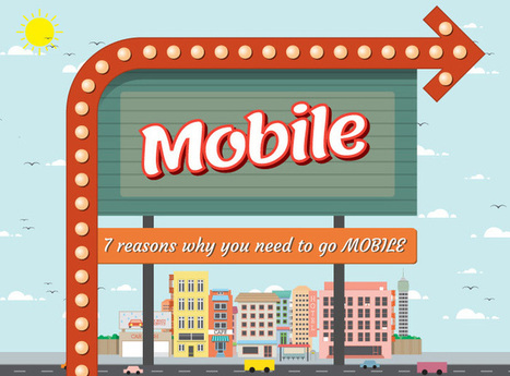 7 Reasons Why You Need to Go Mobile [INFOGRAPHIC] | ProfySpace #ИноМедиа | Scoop.it
