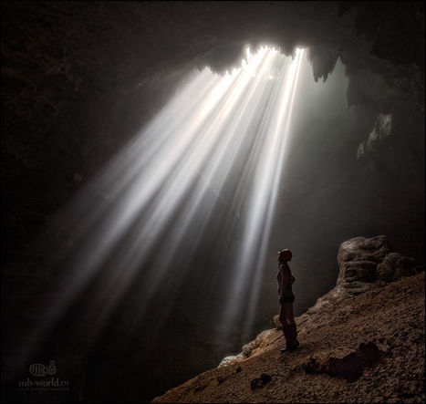 Jomblang cave on the Java island by Michail Vorobyev | My Photo | Scoop.it