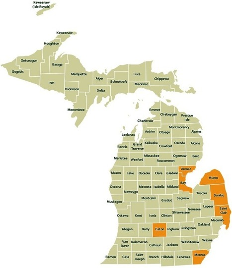 DNR - Inland Lake Maps | Northern Michigan Delights | Scoop.it